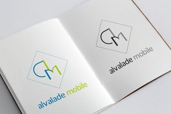 Identidade visual da loja Alvalade Mobile