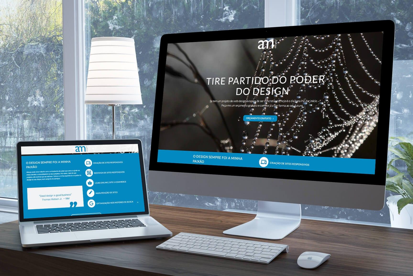Layout responsivo de LP - marketing digital