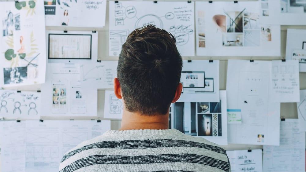 Brainstorming para projeto de Design