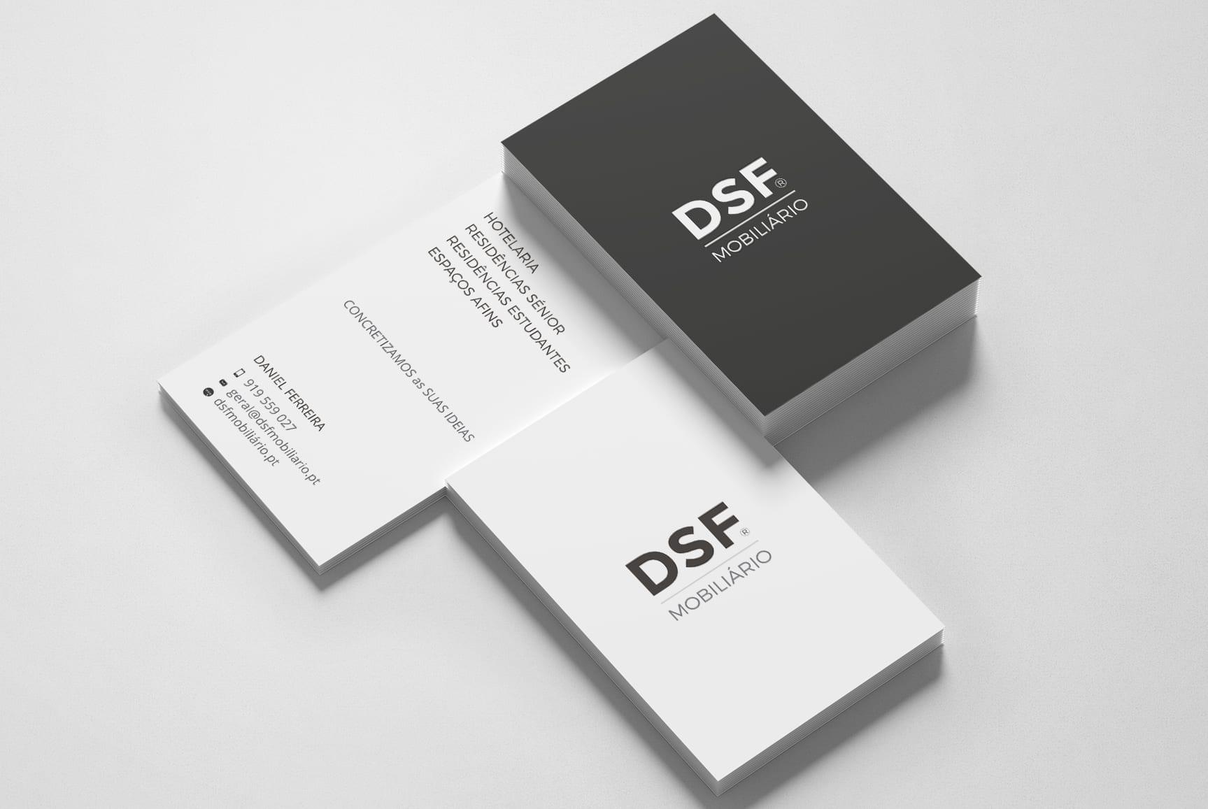 DSF Mobiliário - cartão de visita