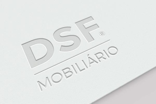Identidade visual da empresa DSF Mobiliário