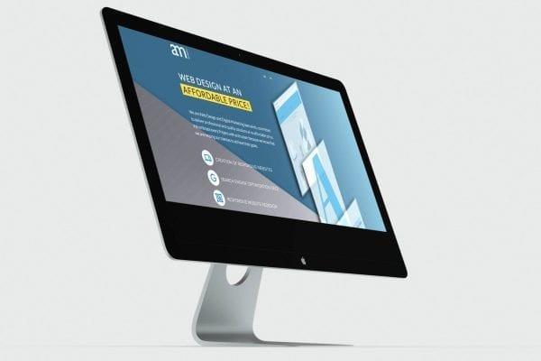 Layout responsivo para desktop da campanha Web Design acessível