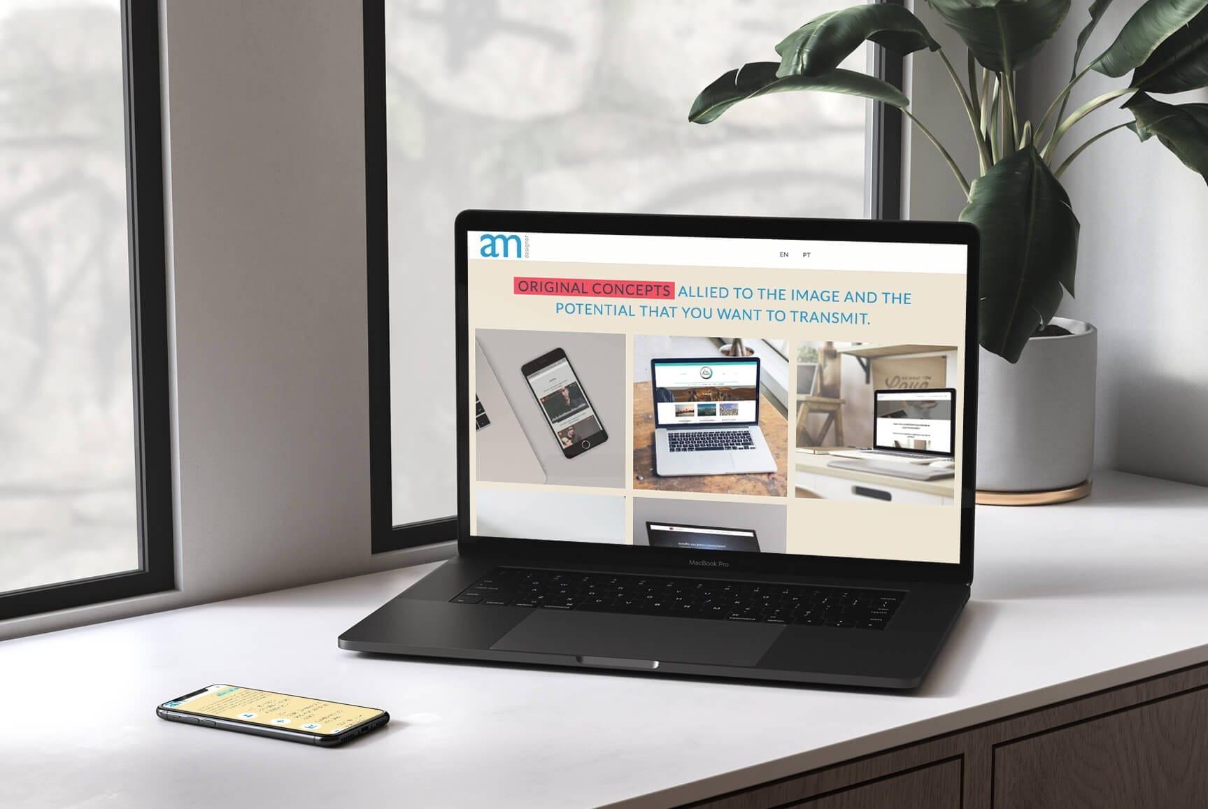 Landing Page - Ana Margarida Mota - Web Design Acessível
