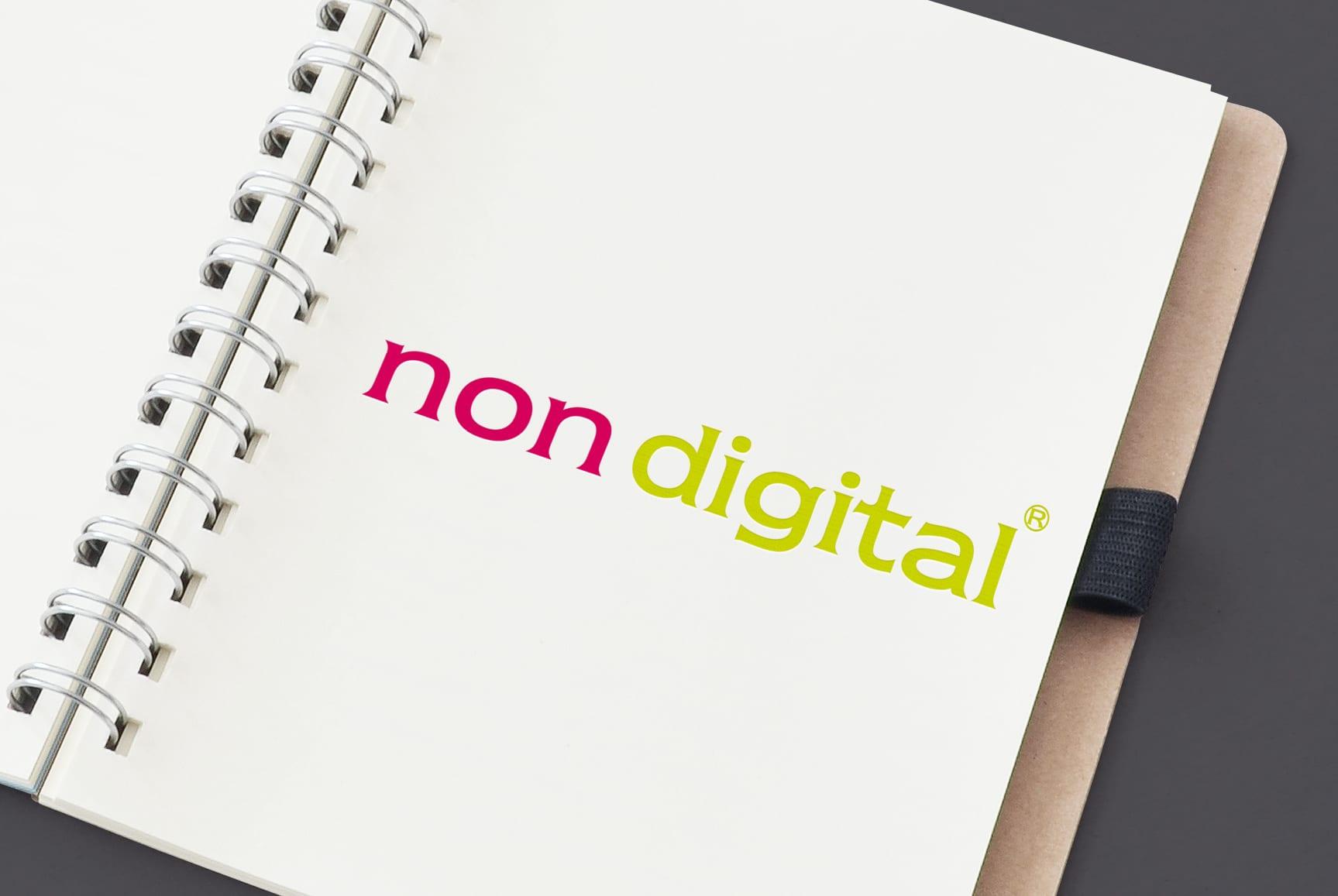 Identidade corporativa Non Digital - Arts and Crafts